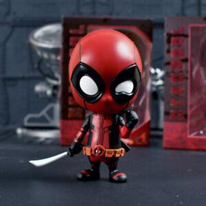Marvel X-Men Cute Deadpool Action Figure Bobble Head Q ...