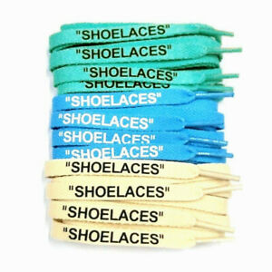 """SHOELACES"" Flat Laces Zip Tie For Off-White /""The Ten/"" Air Jordan 1 max Blazer"