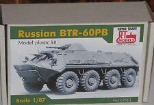 "BTR 60 1/87, HO, Produktion ""RTM""  Ukraine, Neuheit! a kit for self-Assembly."