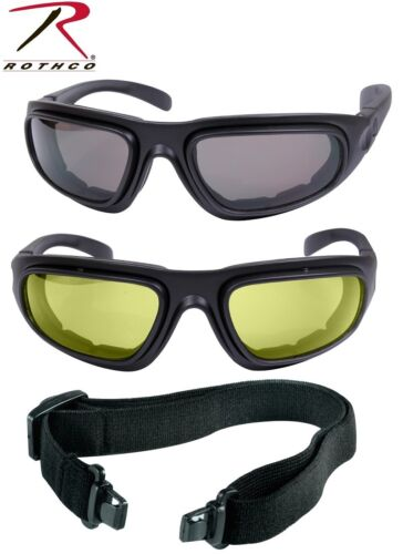 Black Interchangeable Sunglasses to Goggles Tactical Optical System Rothco 10387