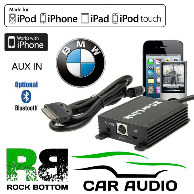 Bmw X5 2001 2005 Car Stereo Radio Aux In Ipod Iphone Bluetooth Interface Cable