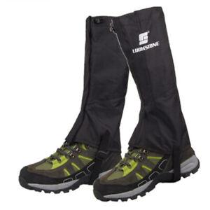 Waterproof-Hiking-Climbing-Walking-Boot-Leggings-Trekking-Gators-Snow-Gaiters