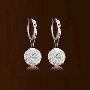 bc05ce647 Image is loading 925-Silver-Plated-Earring-Ear-Studs-Women-Earrings-