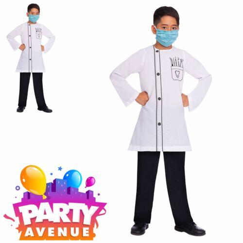 Boys Girls Dentist Demon Kids Fancy Dress Book Week David Costume