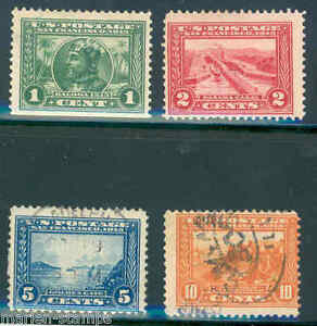 US-LOT-OF-MINT-amp-USED-PANAMA-PACIFIC-STAMPS