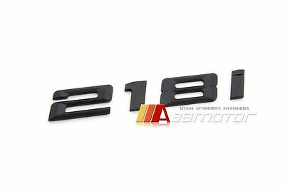 Carbon Fibre BMW 2 series F22 F45 218d Boot Trunk Lid Emblem Badge Letter
