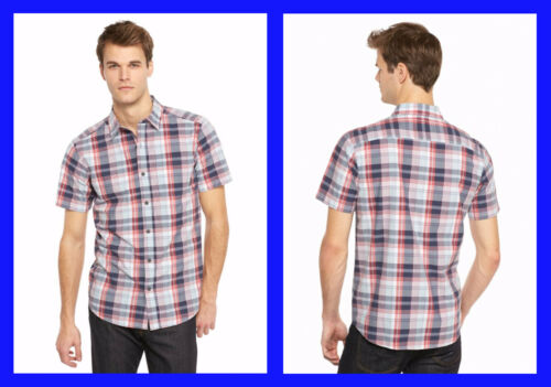 Columbia ~ Thompson Hill II Men/'s Short Sleeve Shirt $45 NWT