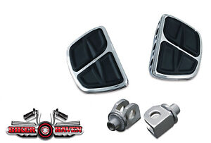 Kuryakyn-Rear-Kinetic-Mini-Floor-Board-amp-Adapter-KIT-Yamaha-Stratoliner