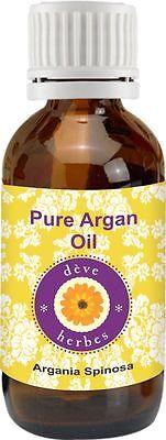Pure Argan Oil (Argania Spinosa) Cold Pressed - 100% Natural Therapeutic Grade