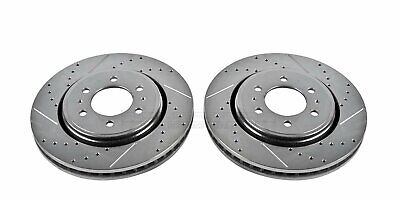 Drilled and Slotted Rotor AR8658XPR Power Stop