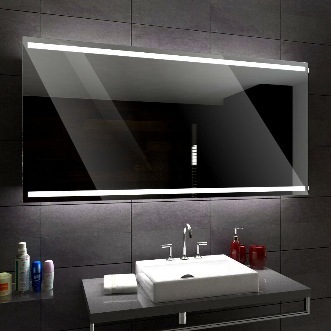 s l1600 - Denver ILUMINADO LED Espejo Del Baño a medida tamaño variantes - a medida