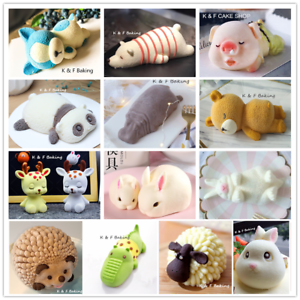 Tier-Silikonform-Mousse-Cake-Kuchenform-DIY-Backform-Schokoladenform-Puddingform