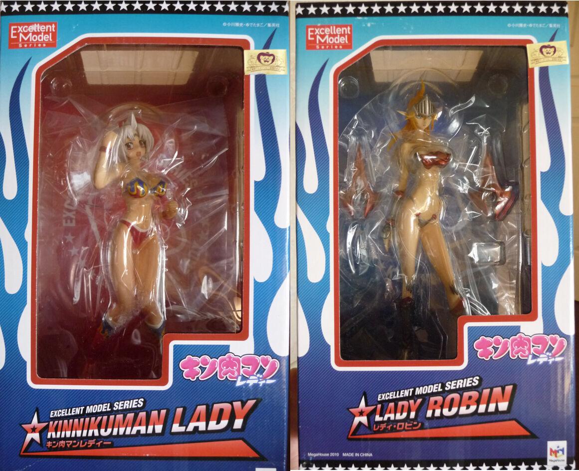 Megahouse GEM Kinnikuman Lady + Lady Robin