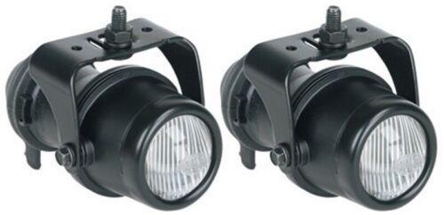 Includes 2 Lamps - hellaH13 Hella Micro DE Series Halogen Fog Lamp Kit Round