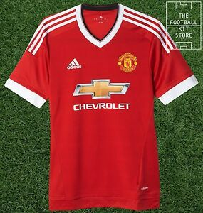 detailed look 71d6e bd7b8 Details about adidas Manchester United Home Shirt - Authentic adizero Man  Utd Jersey All Sizes