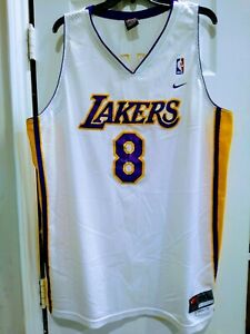 Kobe LA Lakers NBA Authentic Athletic Men's Basketball Jersey Size ...