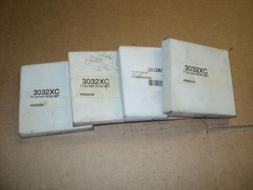 NEW set of 4 Wiseco,JE 77mm XC type Piston Rings