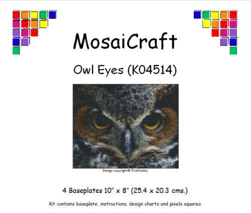 Kit De Arte Mosaico mosaicraft píxel Craft /'Búho Ojos/'s pixelhobby