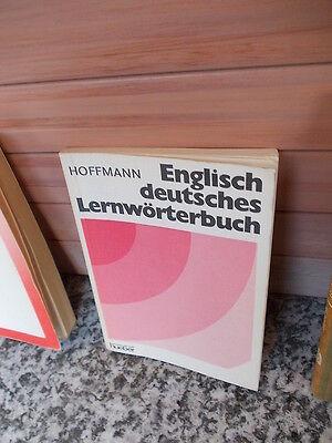 100% QualitäT Englisch Deutsches Lernwörterbuch, Von Hans G. Und Brigitte Hoffmann Online Rabatt