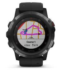 Garmin Fenix 5X Plus Reloj inteligente (010-01989-01)-Zafiro Negro/ Correa Negro