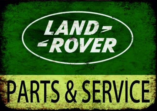 Landrover Parts and Service only vintage retro signs repro wall art