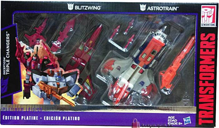 Hasbro 2015 Transformers Platinum edizione G1 Reissue Astrossorain Blitzwing  Set  all'ingrosso a buon mercato