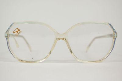Cerca Voli Vintage Stepper Si 41 F535 58 [] 14 135 Trasparente Ovale Occhiali Eyeglasses Nos-mostra Il Titolo Originale Dolcezza Gradevole