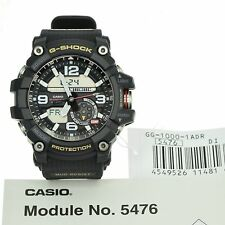 Casio G-Shock GG-1000-1A DR Mudmaster Twin Sensor Watch Black *UK* TAX FREE