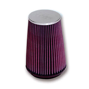 K/&N RC-2600 Car and Motorcycle Universal Chrome Filter