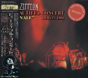 LED-ZEPPELIN-schoene-Konzert-034-Finale-034-Berlin-2cd-1980-Publikum-und-Fichtendecke