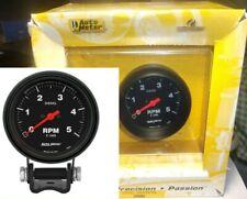 Autometer 2888 Z Series 2 58 Diesel Tachometer Gauge Pedestal 0 5000 Rpm