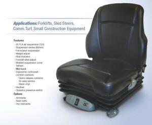 Details about Air Suspension Seat John Deere Skid Steer 315, 317, 320, 325,  328, 332