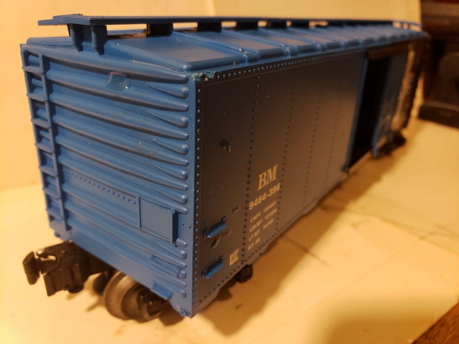 Lionel Boston & Maine 9464 Box Car 0 & 027 Scale 6-17235