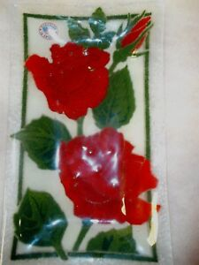 Peggy-Karr-Rectangle-Plate-10-x-6-Roses