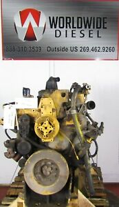 2000-CAT-3126-Diesel-Engine-Take-Out-330-HP-Good-For-Rebuild-Only