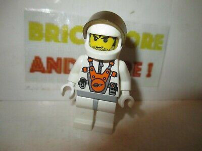 Lego 2 tubes spatiaux 2 trans orange cylinder to capture alien 7699 7694 7697