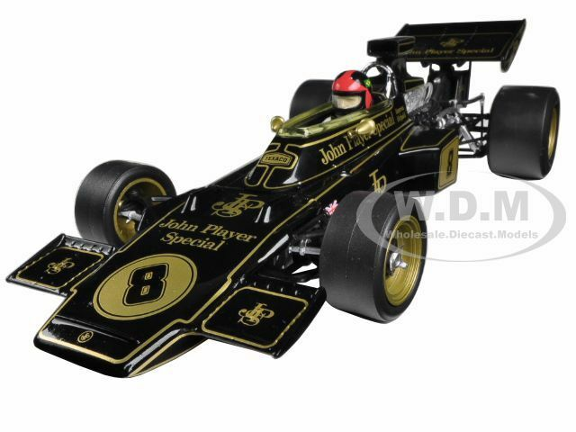 LOTUS 72D   8 EMERSON FITTIPALDI 1972 BRITISH LTD ED TO 1900 1 18 QUARTZO 18280  qualité fantastique