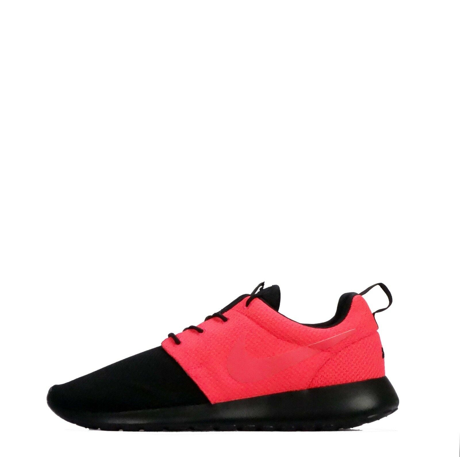 Nike ID Roshe One Men's Casual Trainers Shoes Black/Solar Red