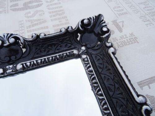 Miroir mural blanc or antique baroque miroir de salle flurspiegel frisierspiegel 56x46 1