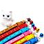 thumbnail 4 - Cute Anchor Sailor Cat Collar Adjustable  Bell Kitten Puppy Snap Buckle 19-31cm