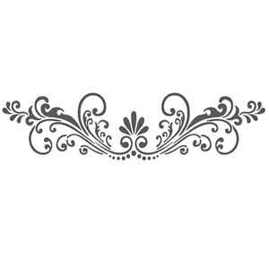Wall stencils border stencil pattern reusable template for for Wall art templates free