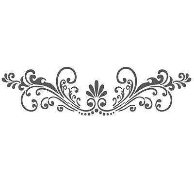 Wall Stencils Border Stencil Pattern Reusable Template for DIY wall decor