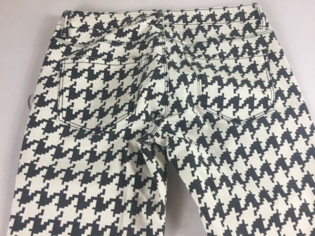 Forever 21 Jeans Skinny Pants Womens 26/27 Black White Stretch 29 x 28 Actual