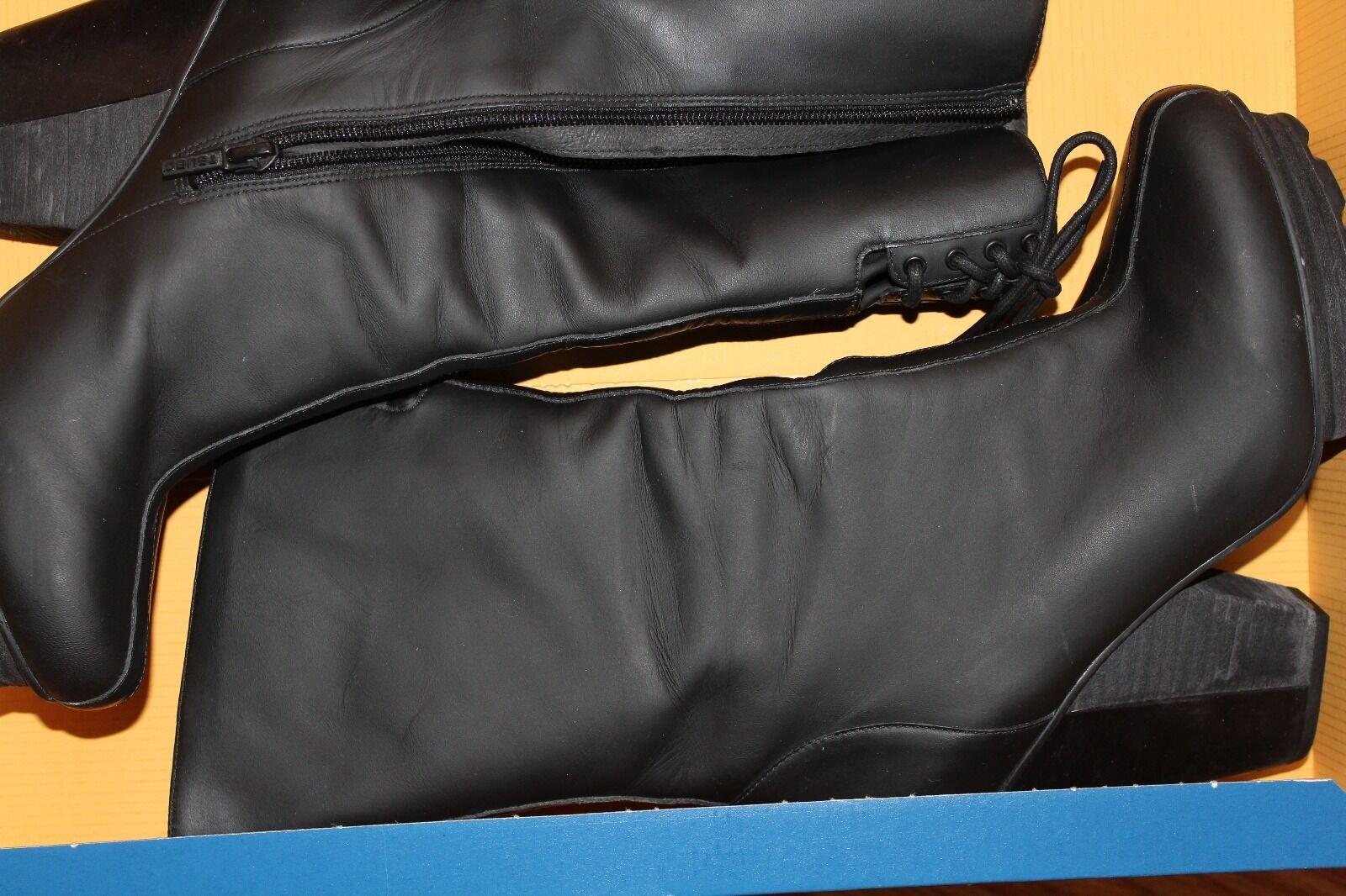 TSUBO Women`s BRAEDEN Black Boot Bootie Size 8.5 New 270