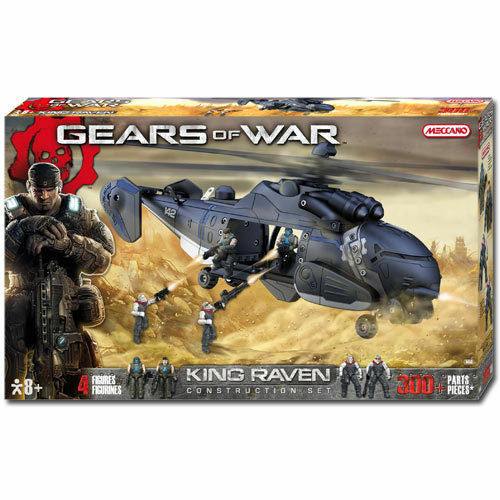 MECCANO King Raven Helicopter Gears of War Construction Set
