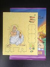 Carte Personnage N° 16 Astérix aux jeux Olympiques Match Cora ETAT NEUF