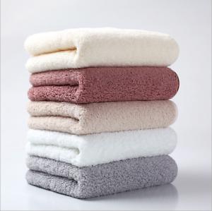 Pure-Color-Luxury-100-Egyptian-Cotton-Towel-Bale-Set-Hand-Face-Bath-Absorbent