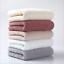Pure-Color-Luxury-100-Egyptian-Cotton-Towel-Bale-Set-Hand-Face-Bath-Absorbent miniature 1
