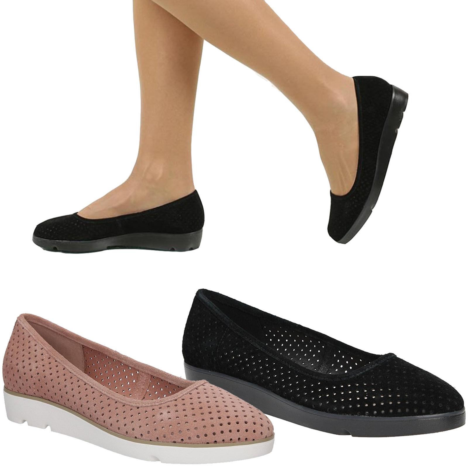 Señora bailarinas Clarks zapato zapato zapato bajo cómomujerte a la moda zapatos talla 36-41 sale  caliente