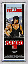RAMBO III (3) movie poster LARGE FRIDGE MAGNET - STALLONE!